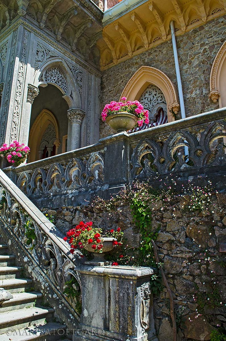 The magic#Castle / #Palacio de #Monserrate, #Sintra, #Portugal. What magnificent architecture and mysterious and wonderful gardens. Photo by Marita #Toftgard