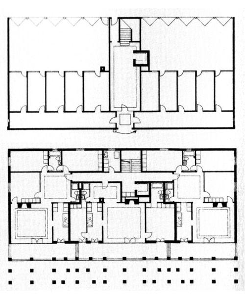 Peter Märkli - Wohnhaus Sargens, 1986