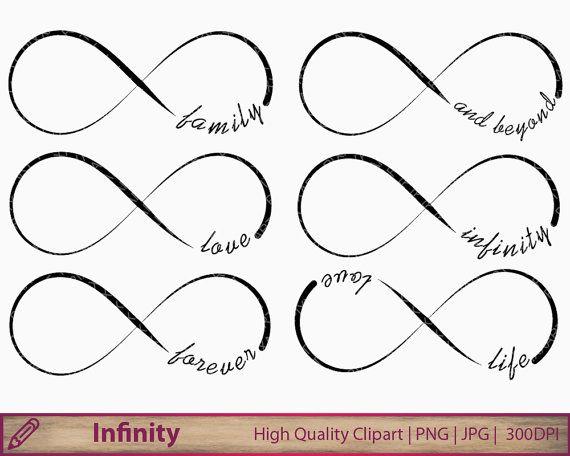Infinity clipart liefde illustraties bruiloft door PiXXartPictures