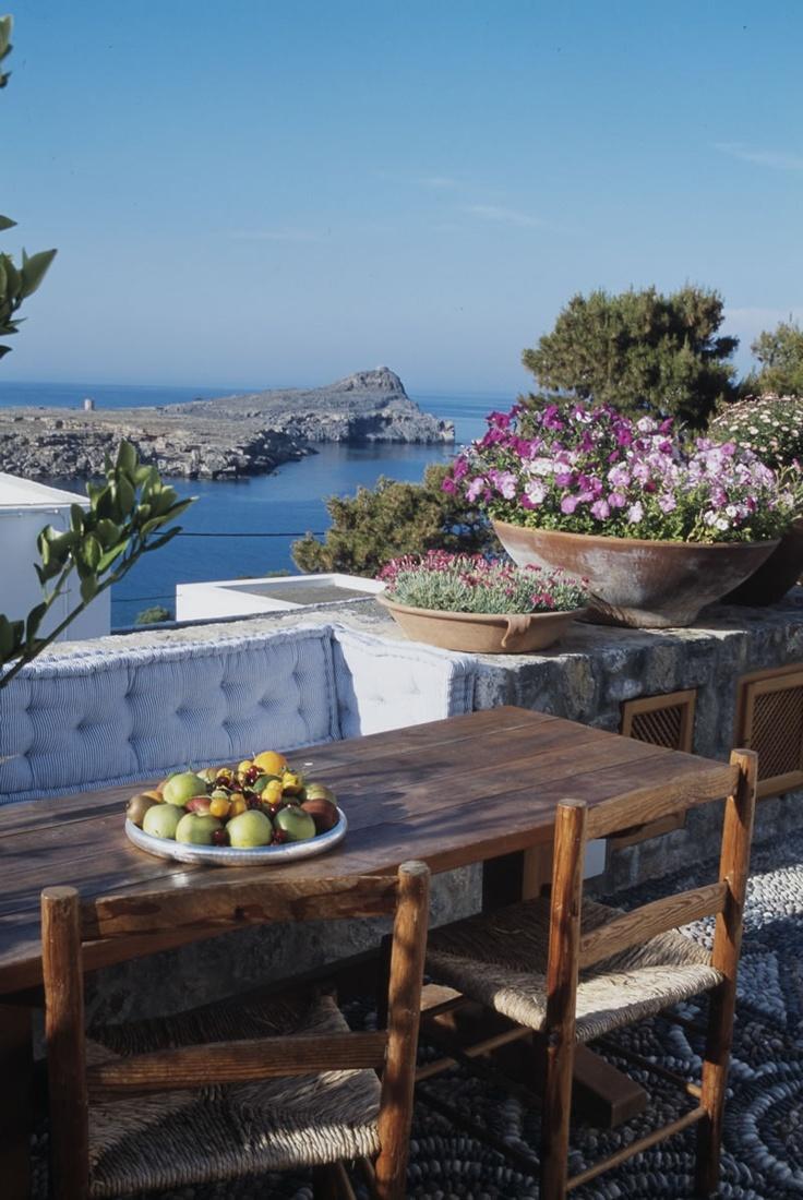 Melenos Lindos, Lindos Greece  SLH membership