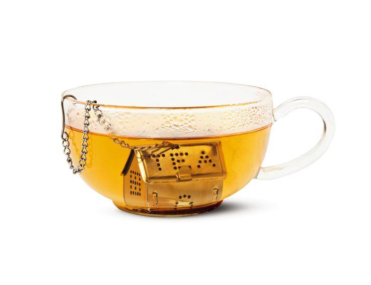 Zaparzaczka do herbaty w kształcie domku. 10 zł. #zaparzaczka #herbata