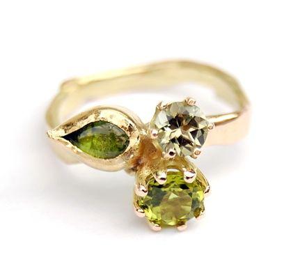 Green & Gold Ring