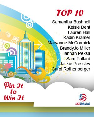 Congrats to our Top 10 winners! Of these Top 10, three will be chosen tomorrow as well as the grand prize winner!
