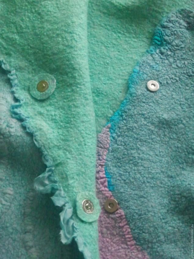 Mini master class: insert button magnets in clothes made of felt - Fair Masters - handmade, handmade