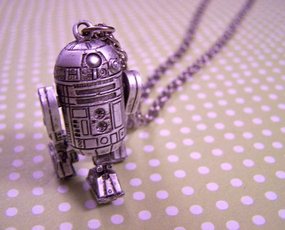 Vintage Star Wars Jewelry from www.akickinthebaubles.com. I had the c-3po also, where did they go?...
