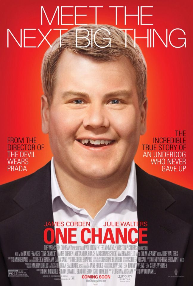 One Chance   Beautiful film of a wonderful humble talented Paul Potts...