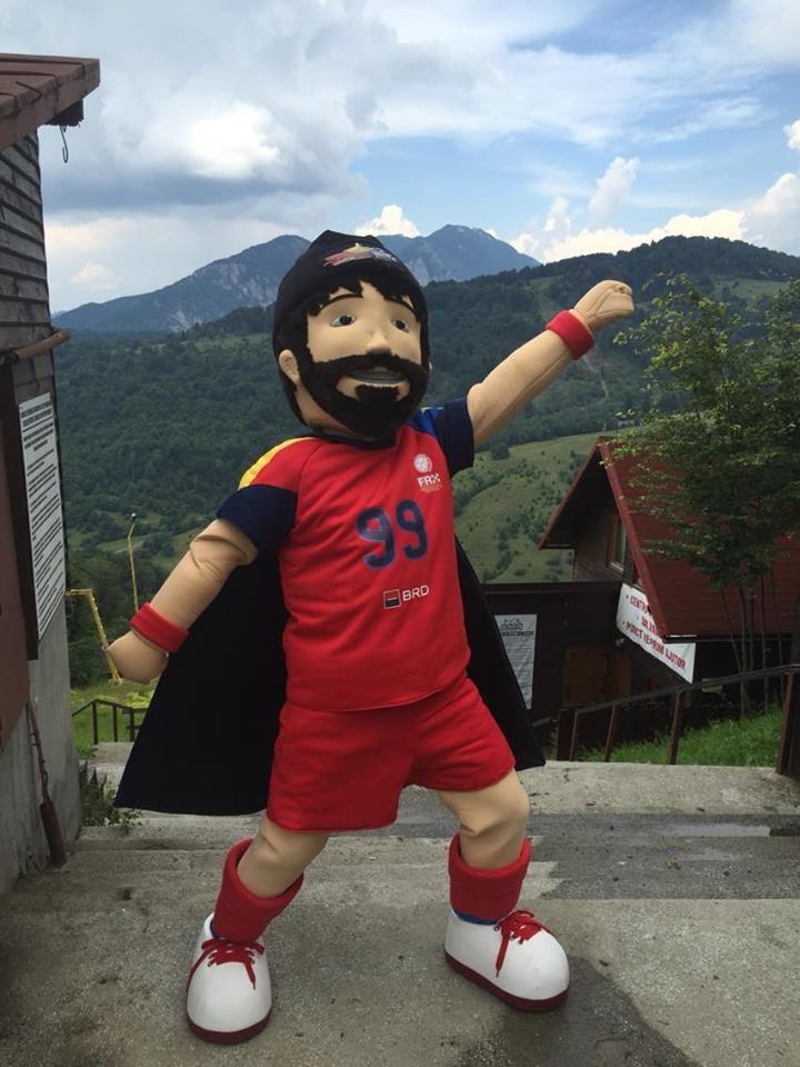 Dacian - Romania #mascot #costume #character #romania