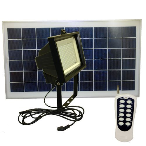 156 LEDs Solar Flood Light