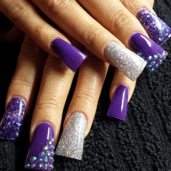41 best Flare Tip Nails images on Pinterest | Fake nail ...