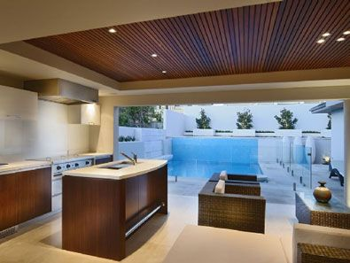 Entertaining outdoor and alfresco area on pinterest for Outdoor alfresco designs