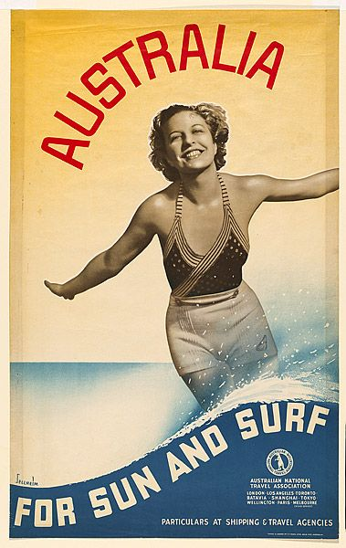 Gert Sellheim - Australia for Sun and Surf (1931)