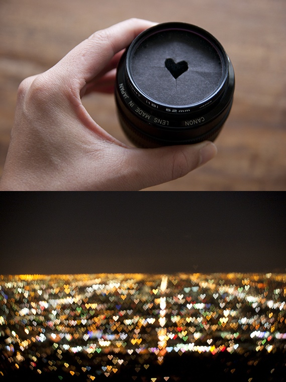 heart shaped bokeh tutorial!