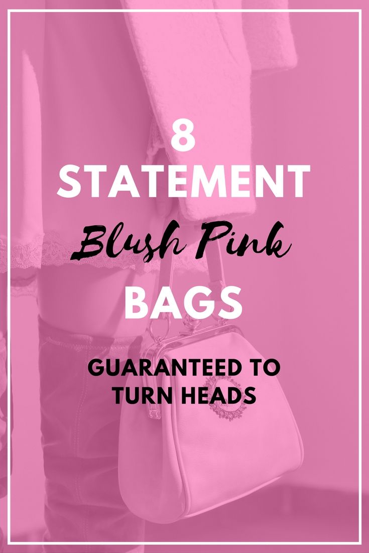 #Blush Pink, Salmon Pink or Millenial Pink bags and clutches. These head turning statement handbags are sure to be the spotlight of our #OOTD