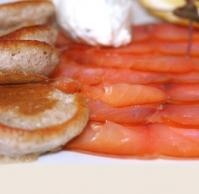 Organic Atlantic cold smoked salmon~ Caviar Star