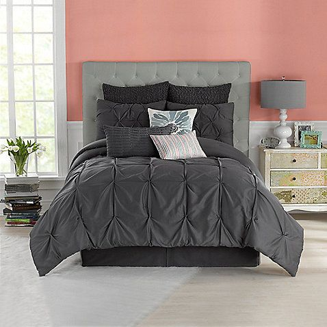 The Comforter set I want. Anthology™ Whisper King Comforter Set in Pewter Bed Bath and Beyond