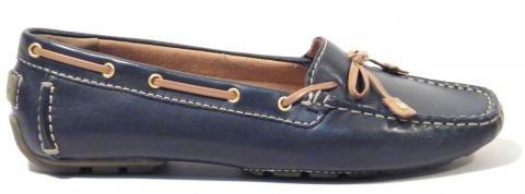 Zapatos mocasines lazo Clarks mujer