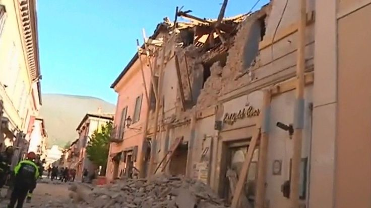 Italy rocked by strongest earthquake to strike the country in 36 years | Fox News