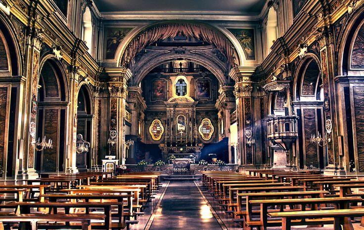 Cattedrale di San Severo (FG): questo è un grande esempio di Barocco Pugliese.  Lux by Luca Ugliola, via 500px