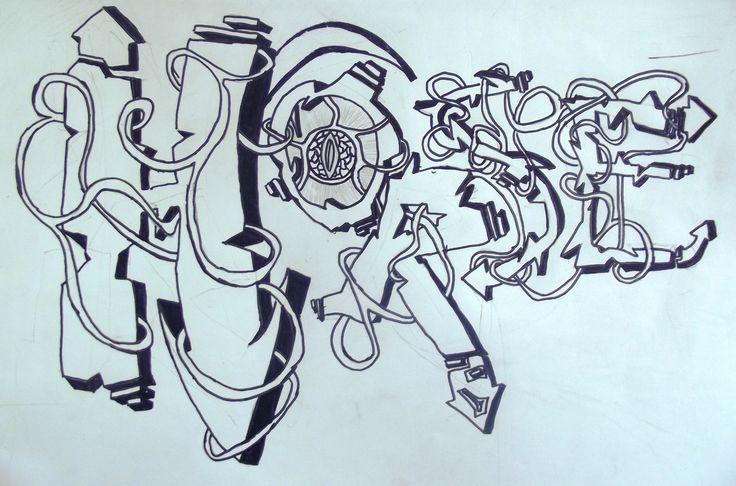 year 8 graffiti project Graffiti, Graffiti styles