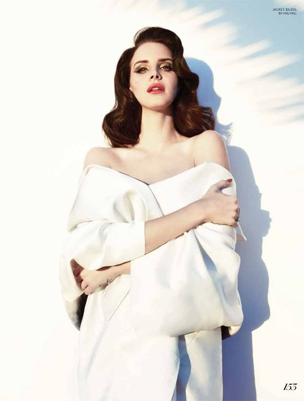 Lana Del Rey Turns Up the Glam for Fashion Magazines Summer 2013 Cover Shoot | Fashion Gone Rogue: The Latest in Editorials and Campaigns
