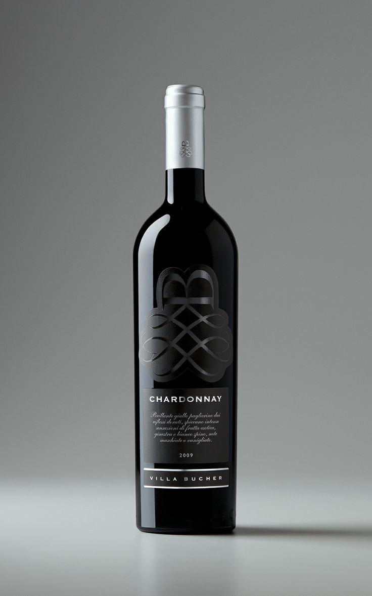 LABEL DESIGN: Chardonnay, Villa Bucher Wine // Creative Director: Claudio Venturini // Client: Villa Bucher // Year: 2009