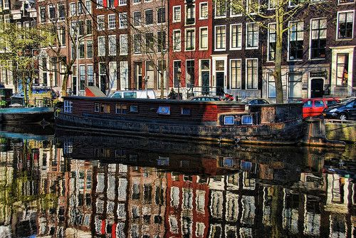 #1 Amsterdam, Netherlands / Guest Post: Emily's Bucket List #travel #bucketlist