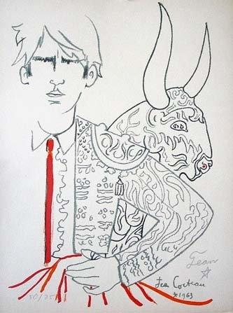 Jean Cocteau, 'Toréador', circa 1942.
