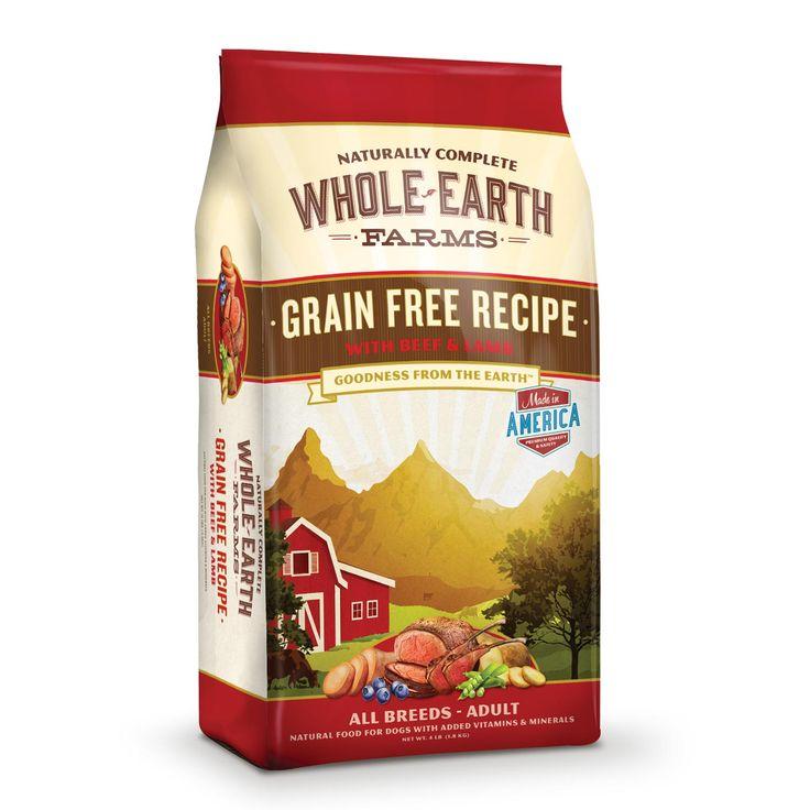 Whole Earth Farms Grain Free Beef Amp Lamb Dog Food Pet