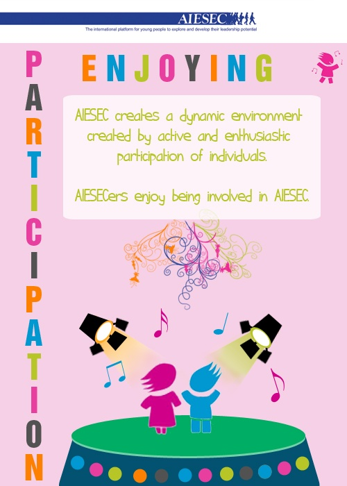 AIESEC Value: Enjoying Participation