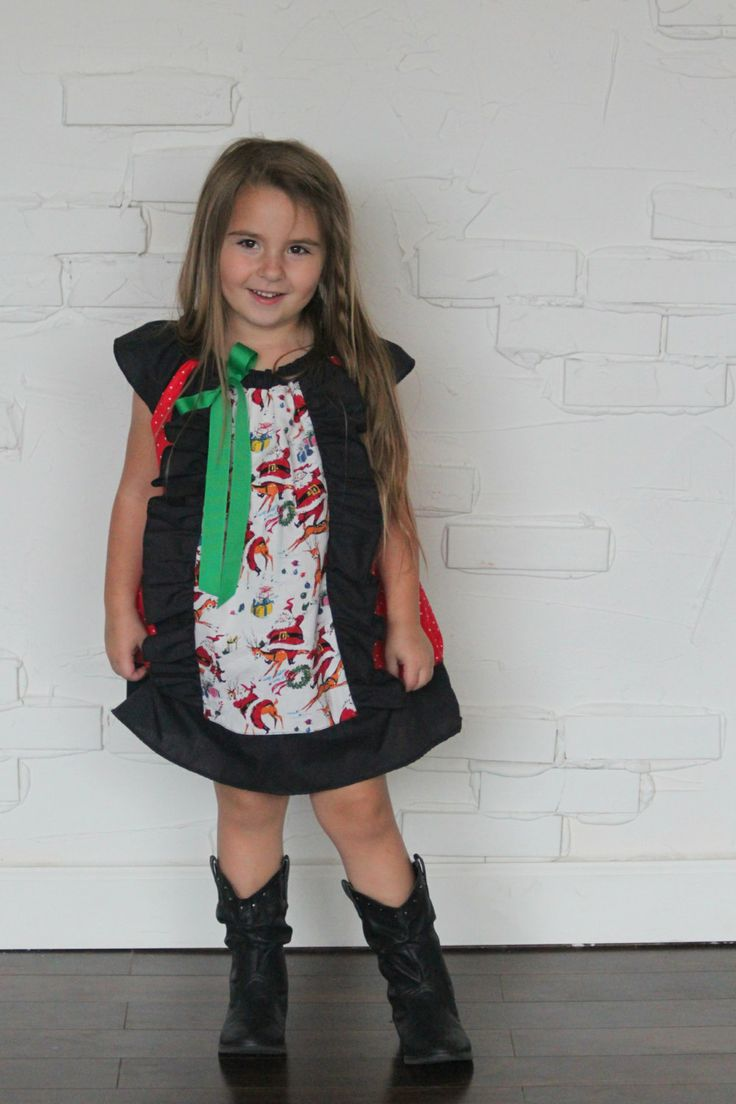 Santa baby weekend sale and panel dress on pinterest