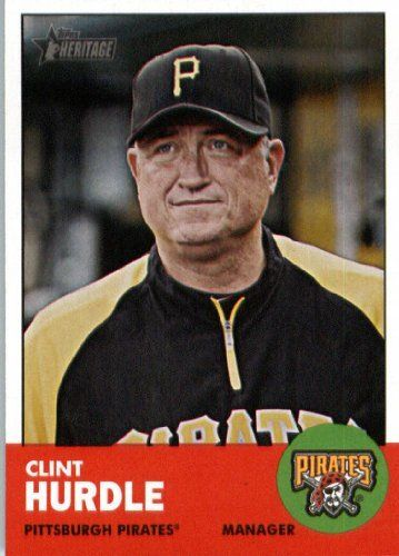 2012 Topps Heritage #393 Clint Hurdle MG - Pittsburgh Pirates (Manager)…