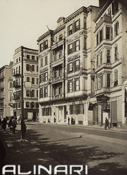 The London Hotel in the English Quarter of Pera, Istanbul