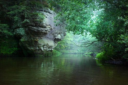 It is named for the Kickapoo Indians who occupied Wisconsin