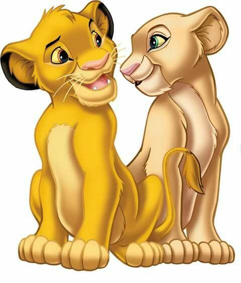 Simba and Nala O Rei Leão