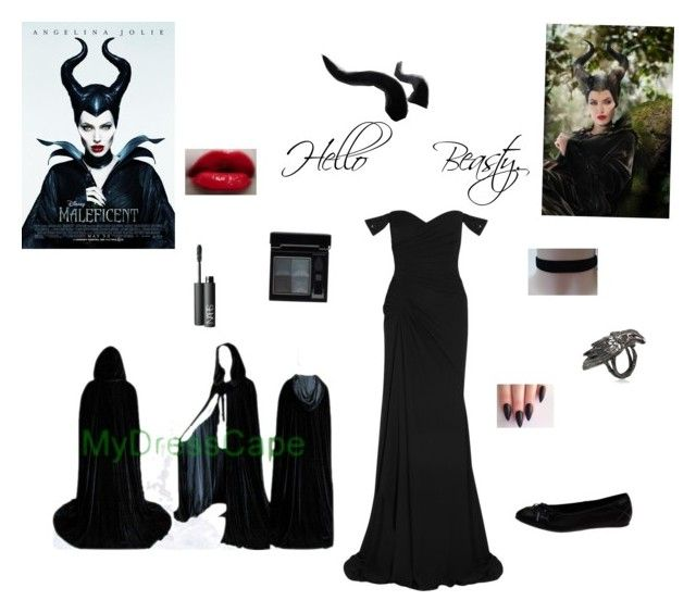"""Maleficent"" by mnm0323 ❤ liked on Polyvore"