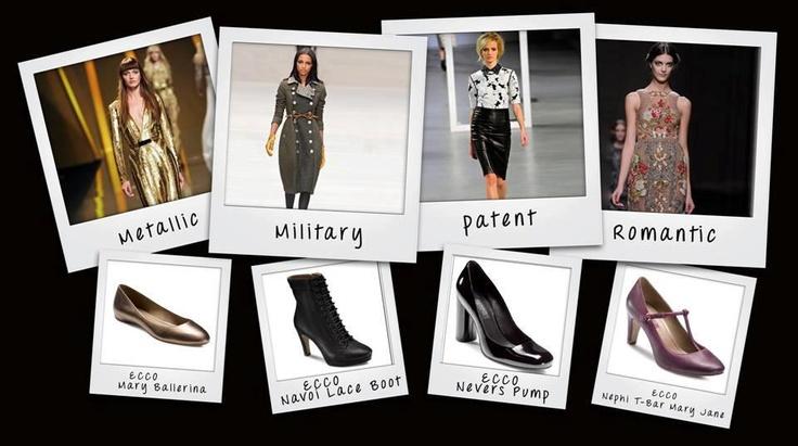 În funcţie de stil, ECCO are propunerea de pantofi care să vă completeze perfect ţinuta.