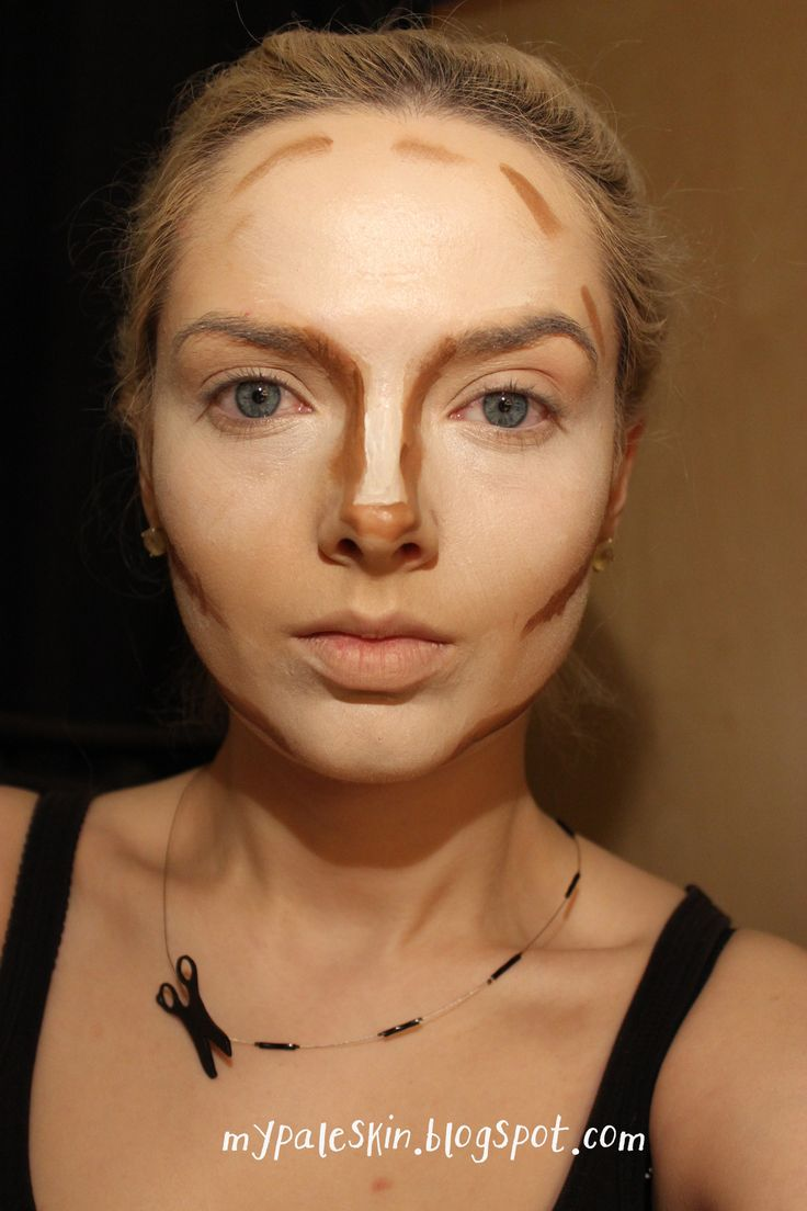 My Pale Skin: [Tutorial] Full tutorial for my Pale Girl Contouring 2.0 Smokey Eye Edition. (Inspired by Margot Robbie)