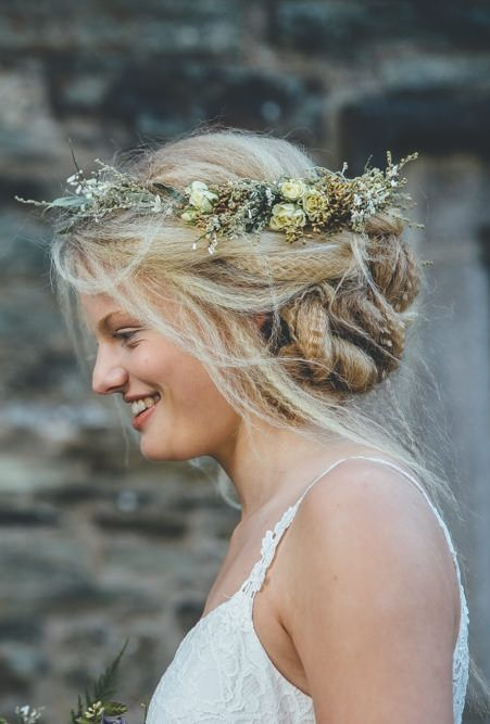 boho bridal hair inspiration | ross talling photography | image via: rock my wedding