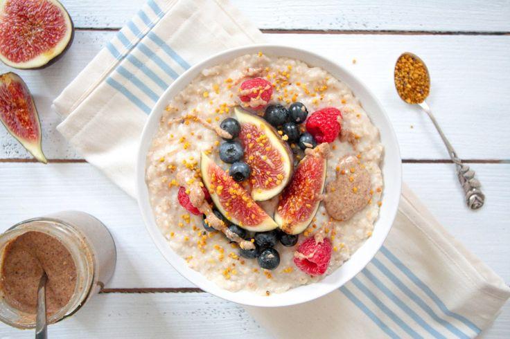 Kokos Porridge - vegan, glutenfrei, ohne raffinierten Zucker - de.heavenlynnhealthy.com