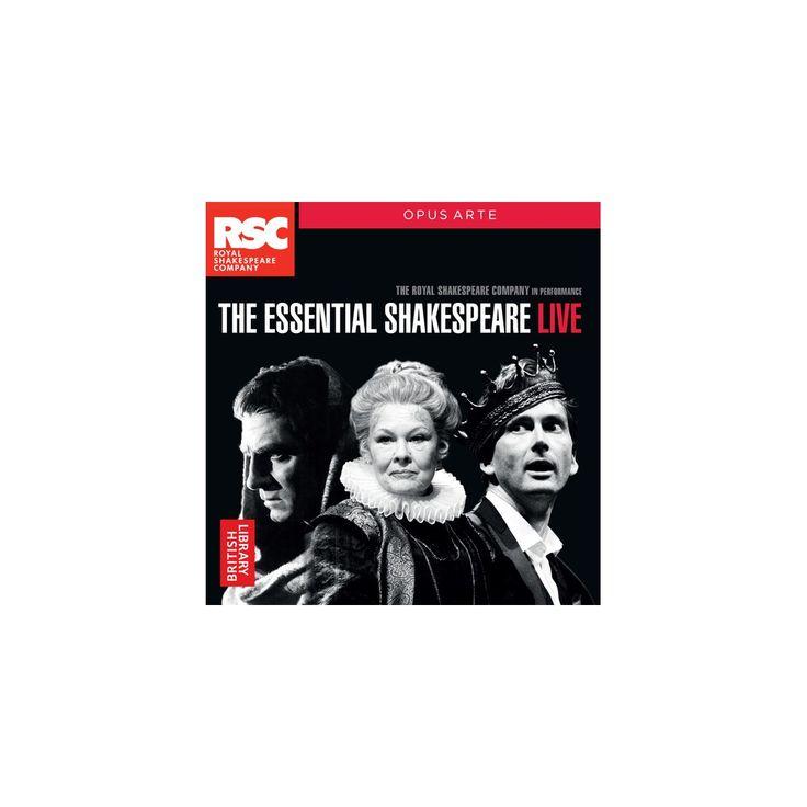 William Shakespeare & Francesca Annis - Essential Shakespeare - Live (CD)