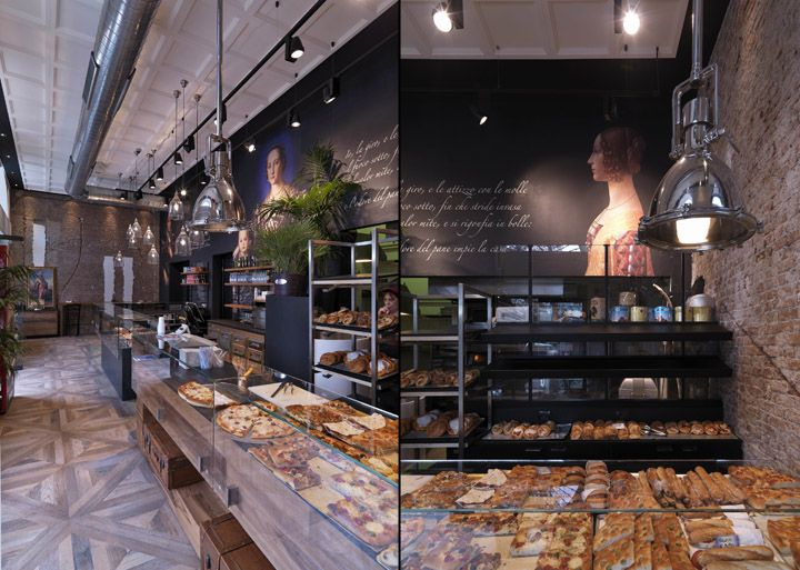 Binary 11 Bakery Caf 232 By Andrea Langhi Design Milan Italy