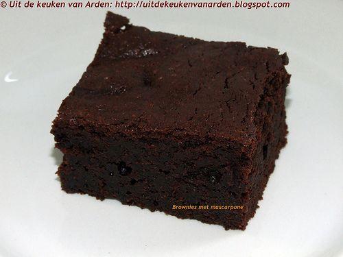 Uit de keuken van Levine: Brownies met mascarpone