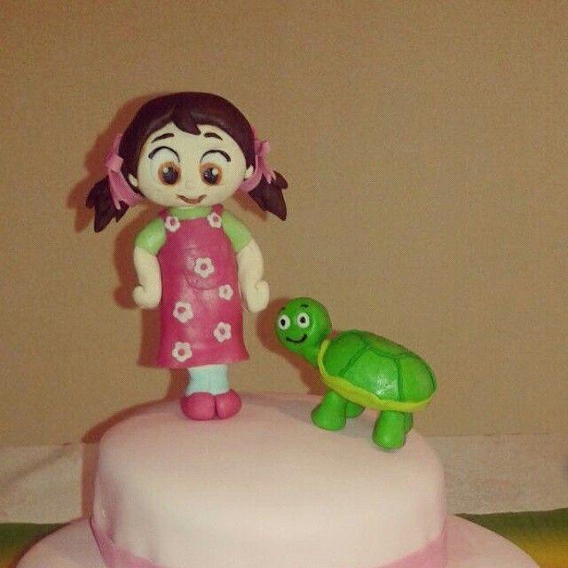 Niloya ve tosbik li doğum günü pastası