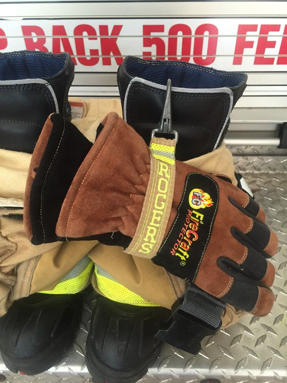 Firefighter Glove Strap from upcycled by UPcycledFirefighter