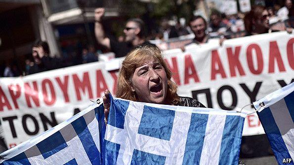 The euro crisis: Democracy v economic efficiency? | The Economist