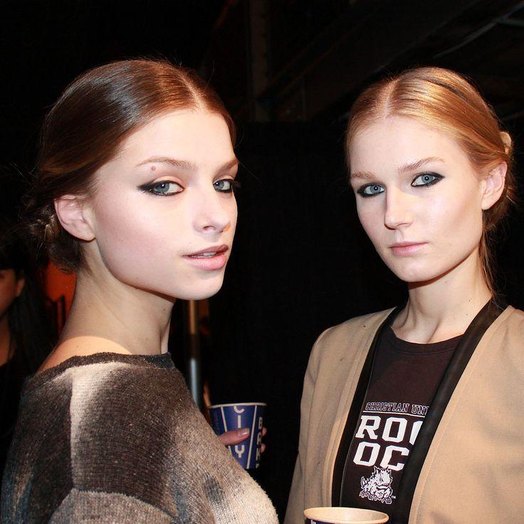 Christian-Siriano-Hair-Makeup-Fashion-Week-Fall-2013.jpg (1024×1024) #Beautiful #Photography #winter #Russia #models #woman