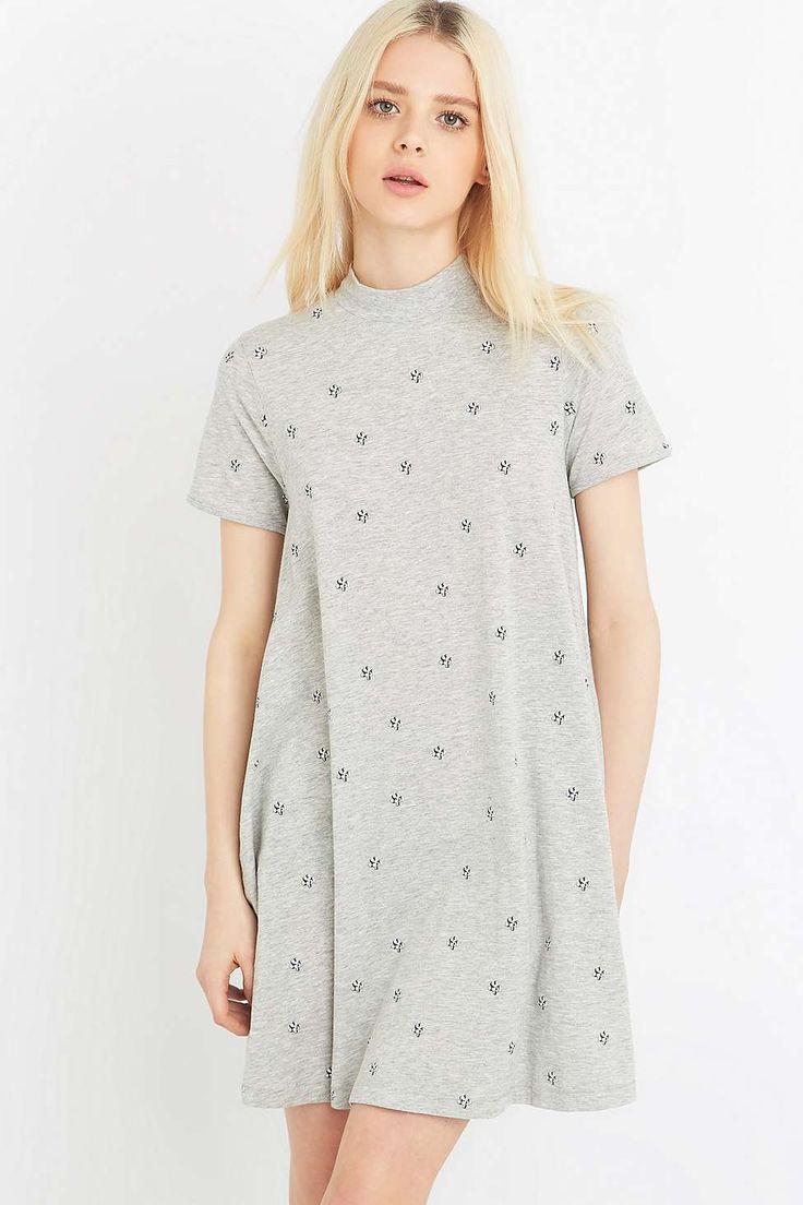 UO Exclusive Cheap Monday Grey Cactus Dress