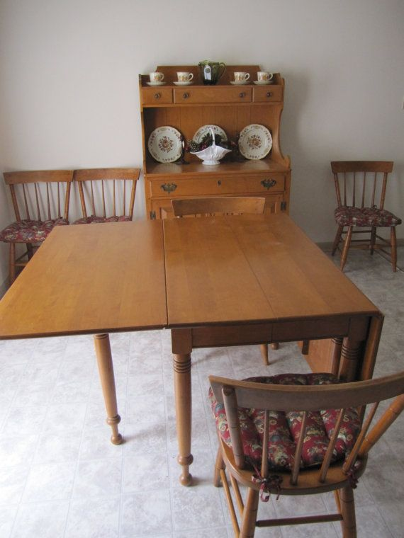 Vintage Mid Century Willett Lancaster Couny Maple By