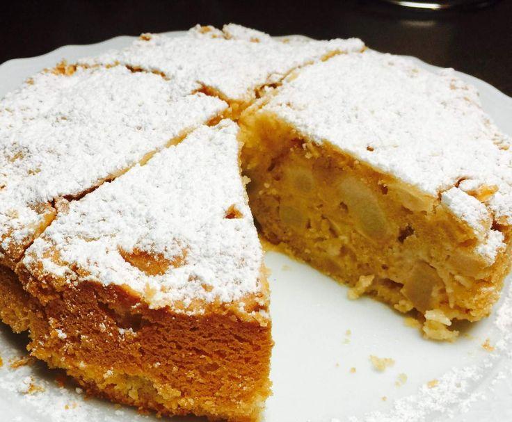 Rezept Apfel-Mandelkuchen von phoe_nix89 - Rezept der Kategorie Backen süß