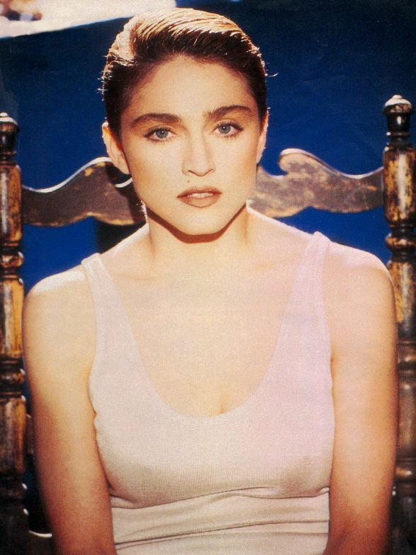 Famous photographer Albero Tolot snapped these pics during the  making of the La Isla Bonita video, which was directed by Mary Lambert.1986.